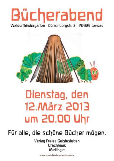 Bücherabend Frühjahr 20131
