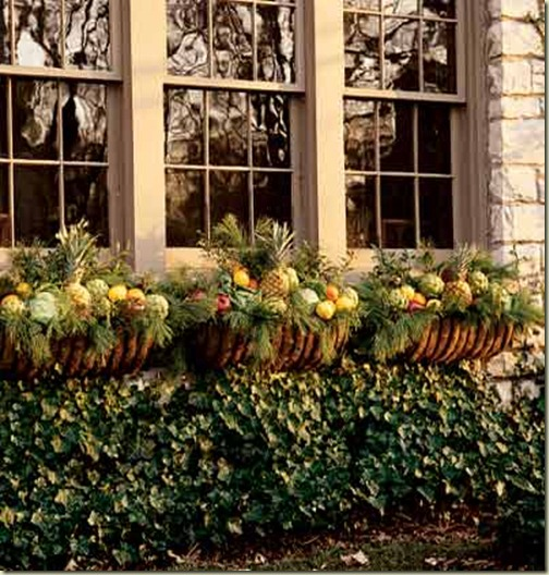 holiday window boxes my home ideas
