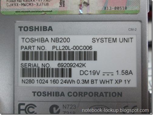 Toshiba NB200 เครื่องค้างที่โลโก้ Toshiba