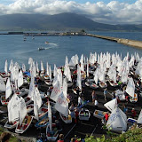 Action from the Optimist Nationals in Fenit (Photo's Darren O'Keeffe)