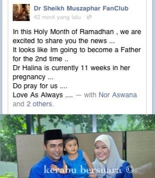 Tahniah! Dr Sheikh Muszaphar Bakal Sambut Anak Ke 2