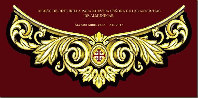 CINTURILLA ANGUSTIAS ALMUÑECAR ALVARO ABRIL VELA DISEÑO 2012