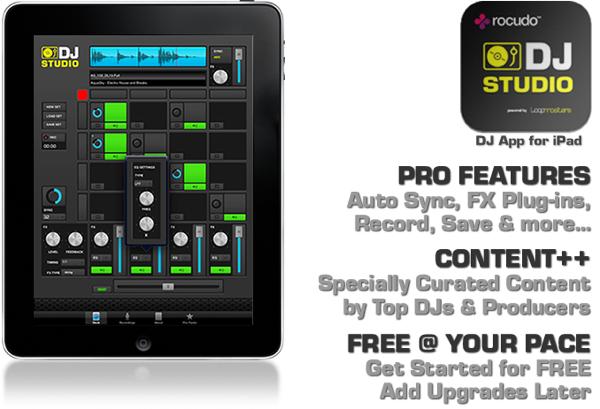 rocudo dj mixing ipad app