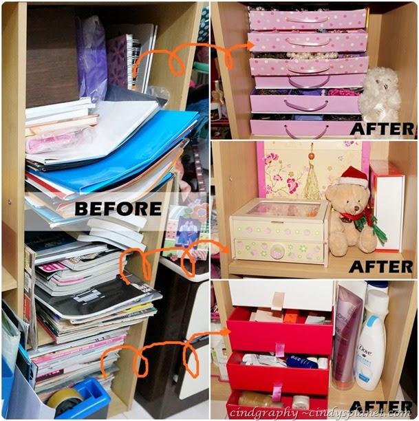 Organized makeup
