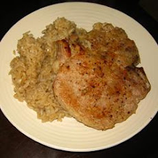 Pork Chops and Dirty Rice