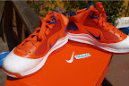 nike air max lebron 7 pe hardwood orange 3 10 Yet Another Hardwood Classic / New York Knicks Nike LeBron VII