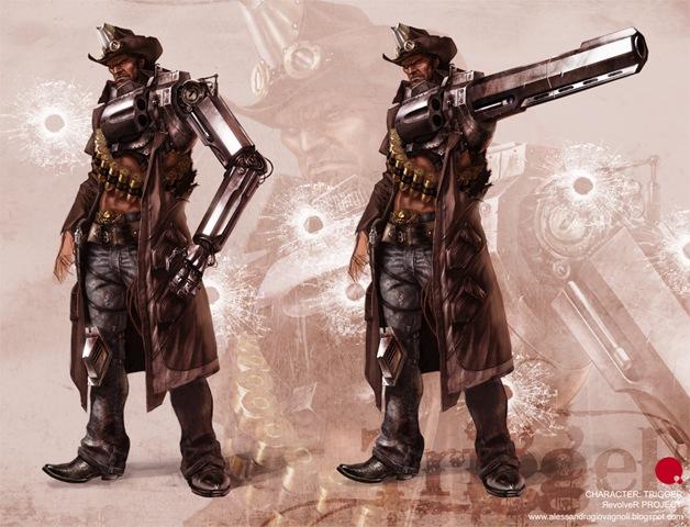 Trigger Revolver Project