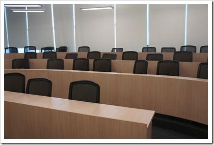 nus mba campus tour seminar room