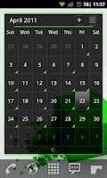 Screenshot of Galaxy Green LPP / APW Theme