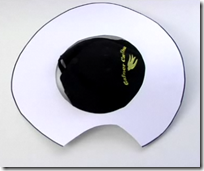 sombrero disfraz de do quijote cartulina