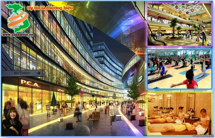 hệ thống trung tâm thương mại chung cư hh1-hh2-hh3-hh4 linh đàm