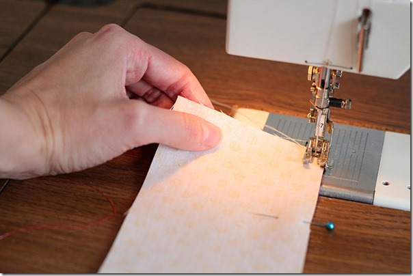 Holding Fabric and sewing