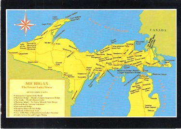 POSTCARDMAP_UP_Michigan