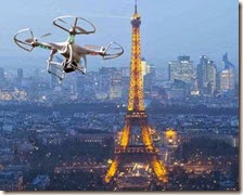 Droni a Parigi