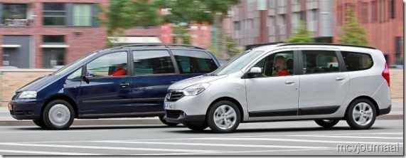 Dacia Lodgy vs VW Sharan 05