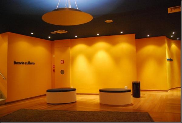 Lounge Cine Livraria Cultura - Conjunto Nacional - Av. Paulista - Foto Divulgação