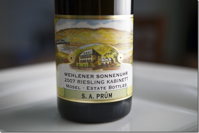 2007 Wehlener Sonnenuhr Mosel Estate Bottled Riesling Kabinet-1