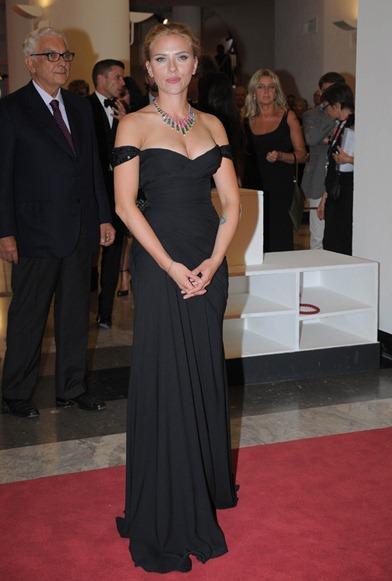 Scarlett Johansson de Versace 2