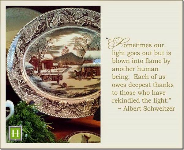 Albert Schweitzer Quote - Wanda S. Horton Interior Design