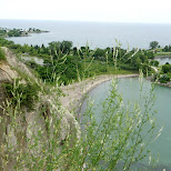 breathtaking view at Scarborough Bluffs in Toronto, Ontario, Canada