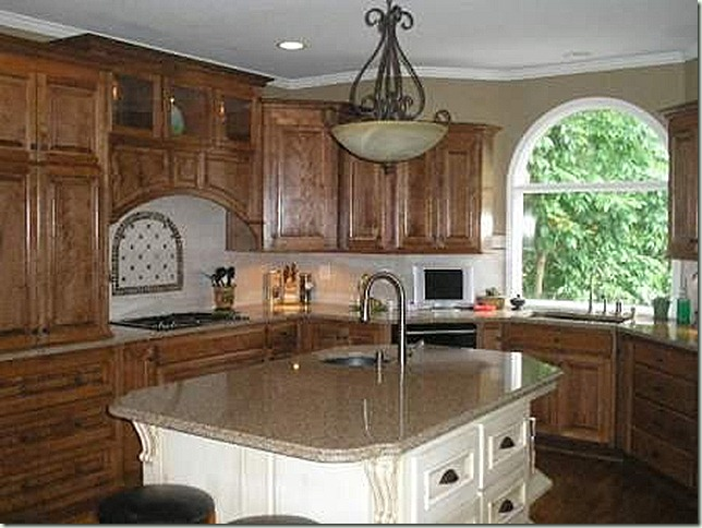 Kitchen light over center island, Silestone, countertops, kitchen island, prep sink, remodel