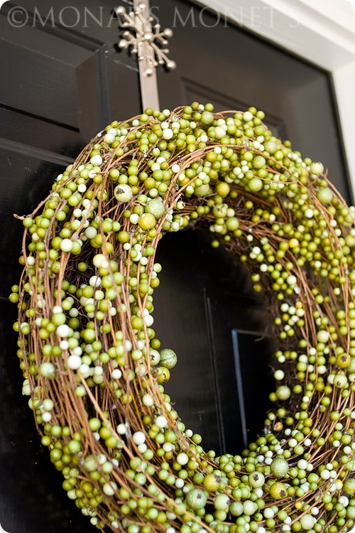 Green wreath blog