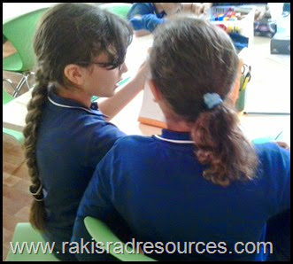 Let students have discussions to build listening and speaking vocabulary - ESL Tip from Raki's Rad Resources