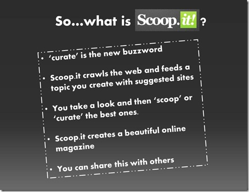 what is scoopit