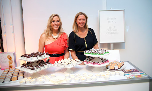 Carrie Middlemiss from Bella Cupcake Couture and Rachel Thebault of Tribeca Treats.