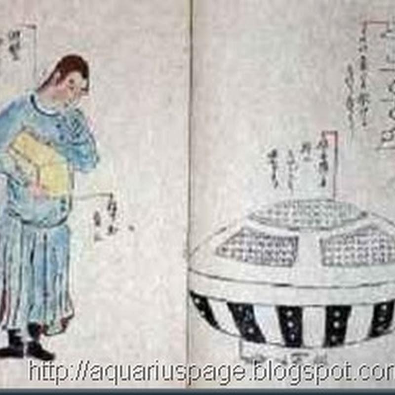 A Lenda Japonesa de um UFO