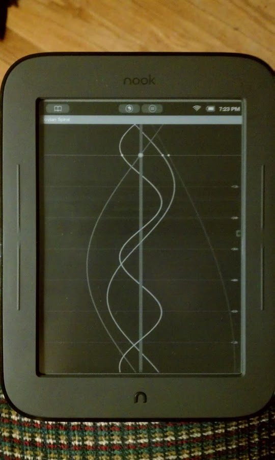 Where is Io on Nook Simple Touch