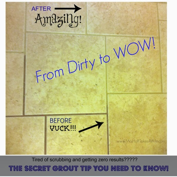 Tile Grout Secret clean
