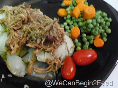 Cranberry Pulled Pork in the Crockpot1