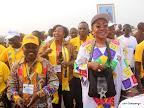 – Des cadres et membres du PPRD, lors de la clôture du 2ème congrès de leur parti politique le 21/08/2011 au stade des martyrs à Kinshasa. Radio Okapi/ John Bompengo