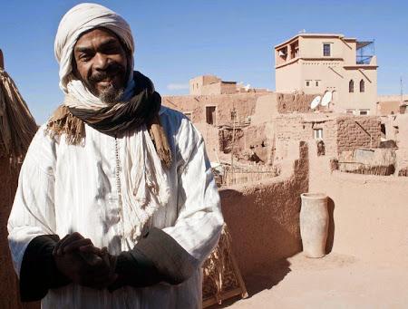 Doi romani si-un tricolor in jurul lumii: Ouarzazate, Maroc
