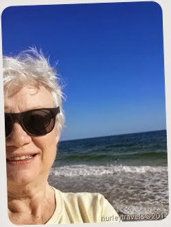 Nancy at Gulf Shores, March 2014.
