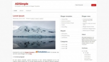 Adsimple blogger template 225x128