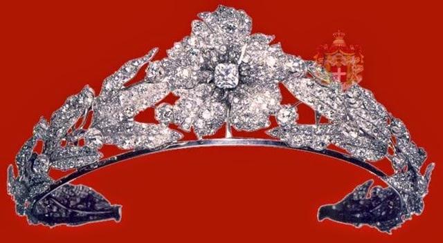 Tiara de Diamantes y Perlas de la infanta Maria Isabel de Borbon (alias La Chata