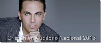 cristian castro reventa de entradas baratas para su presentacion en A Nacional 2013