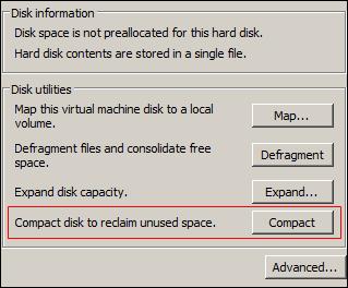 VMDK Compact