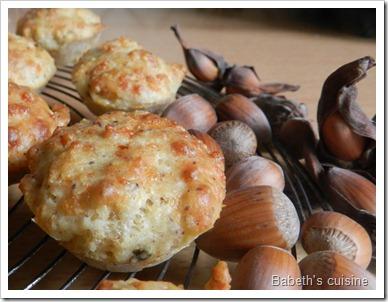 muffins noisette comté