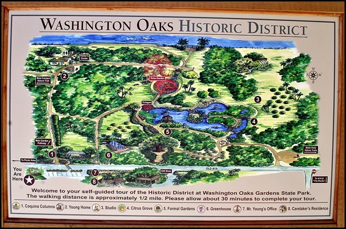 04b - Washington Oaks Gardens Map