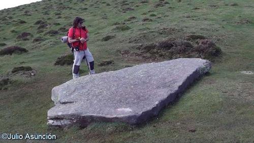 Menhir del collado de Argibel - Elizondo