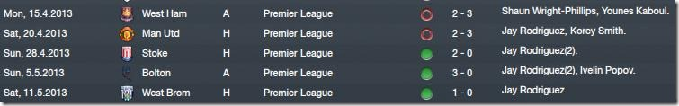 Matches before two last fixtures