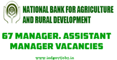 NABARD Assistant Manager Recruitment 2013