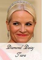 Diamond Daisy Tiara