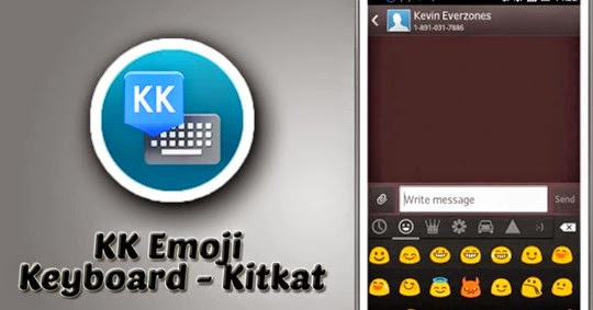 تحميل برنامج Emoji Keyboard تدعم العربية للأندرويد
