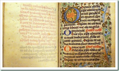 medieval prayerbook