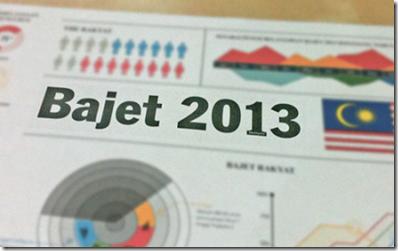 Malaysia bajet 2013