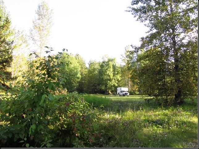 Tudyah Lake Provincial Park campsite